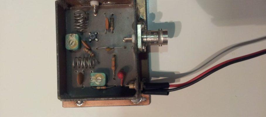 Preamplificador de 145 MHz